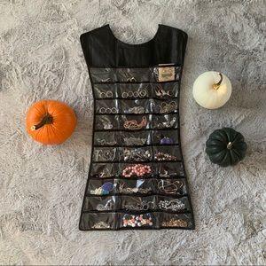 Hanging Jewelry Organizer - Double Sided Dress